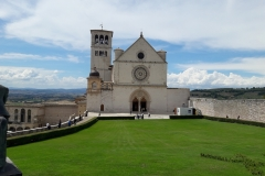 Assisi-sv. František a sv. Klára