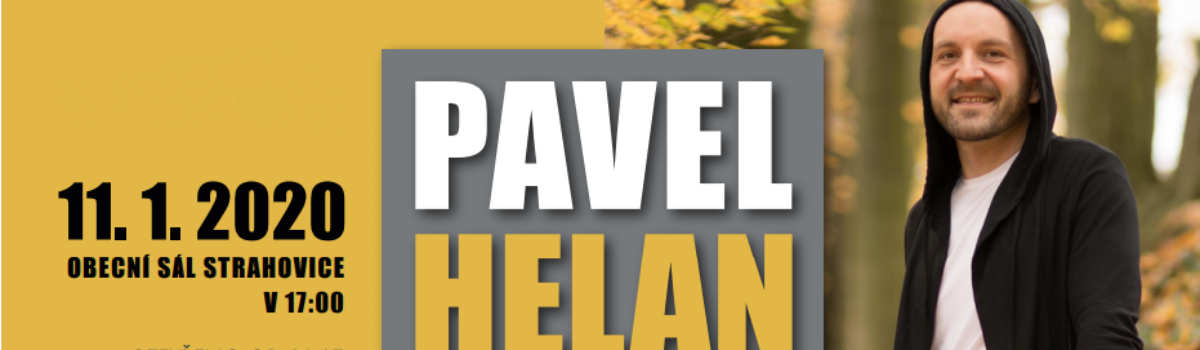 Novoroční koncert – Pavel Helan