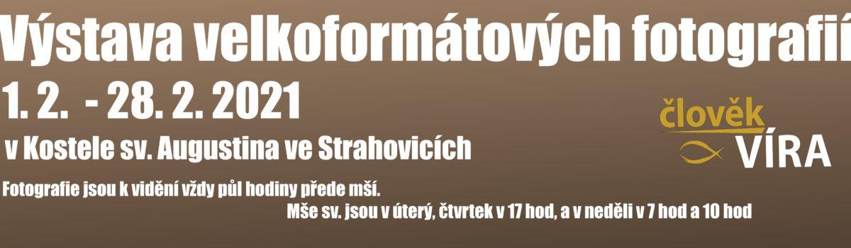 Výstava fotografií – kostel Strahovice